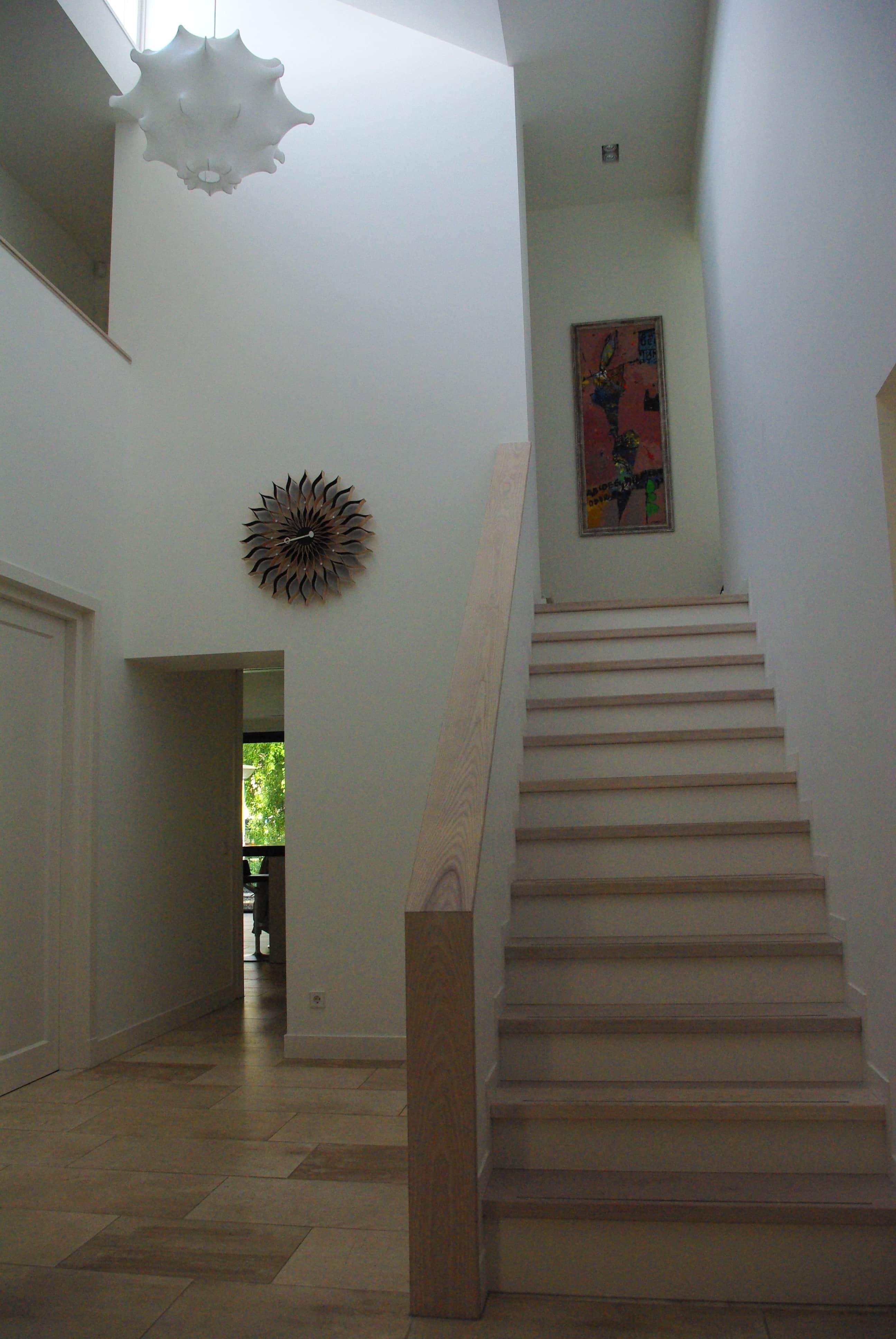 Moderne design entreehal